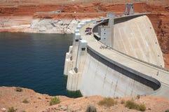 De Dam van de Canion van de nauwe vallei stock afbeeldingen