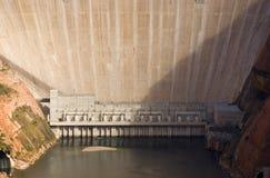 De Dam van de Canion van de nauwe vallei Stock Afbeelding