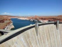 De Dam van de Canion van de nauwe vallei Royalty-vrije Stock Afbeeldingen