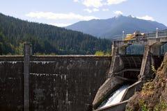De Dam van de Canion van Glines, Rivier Elwha Royalty-vrije Stock Foto's