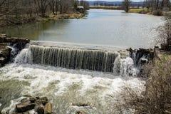 De Dam van de gansmolen Royalty-vrije Stock Fotografie