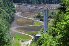 De dam van de modderberg Royalty-vrije Stock Foto