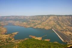 De Dam van Dhom stock fotografie