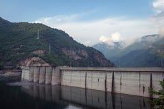 De dam van Dospat stock fotografie