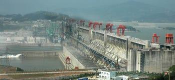 De Dam van drie Kloven Stock Afbeeldingen