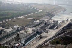 De Dam van drie Kloven in China royalty-vrije stock fotografie