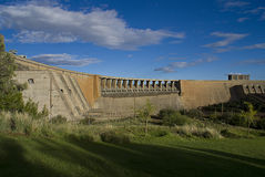 De Dam van Gariep stock afbeelding