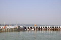 De dam van Gezhouba Royalty-vrije Stock Fotografie