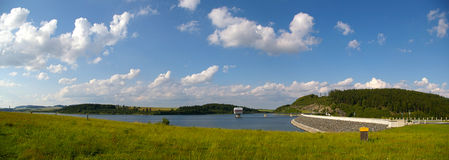 De dam van Harta van Slezska Stock Foto's