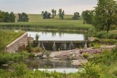 De Dam van het hoopmeer Stock Fotografie
