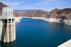De Dam van Hoover bij Meer Powell Stock Foto's