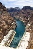 De Dam van Hoover bij Meer Powell Stock Foto