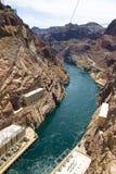 De Dam van Hoover bij Meer Powell Royalty-vrije Stock Foto's