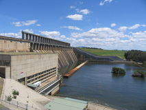 De dam van Hume Royalty-vrije Stock Foto