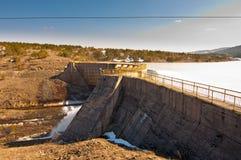De Dam van Jezero van Rybniza Royalty-vrije Stock Foto's