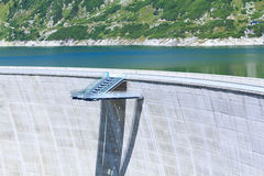 De Dam van Kölnbrein Stock Afbeelding