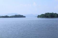 De Dam van Kaengkrachan, Phetchaburi-provincie, Thailand Royalty-vrije Stock Afbeeldingen