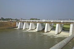 De Dam van Klong van Mae Stock Afbeeldingen