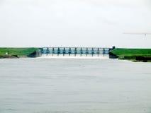 De Dam van meerlivingston Stock Afbeeldingen