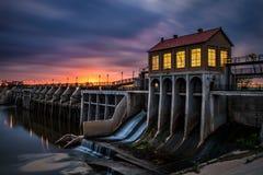 De Dam van meeroverholser in de Stad van Oklahoma Stock Afbeelding