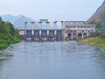 De Dam van Na van Tungboom van Tha Royalty-vrije Stock Fotografie