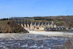 De dam van New Brunswick Stock Afbeeldingen