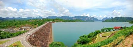 De Dam van Ratchaprapa Royalty-vrije Stock Foto's