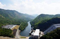 De dam van Srinakarin. Stock Afbeeldingen