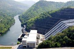 De dam van Srinakarin. Royalty-vrije Stock Fotografie