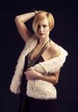 De dame van de luxe Royalty-vrije Stock Foto's