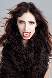 De dame van de vampier Royalty-vrije Stock Afbeeldingen