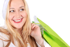 De dameklant van de blonde Stock Foto