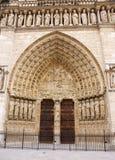 De damepoort van Notre Royalty-vrije Stock Foto's