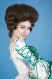 De dameportret van het flirt Royalty-vrije Stock Fotografie