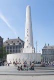De Dammonument van Amsterdam Royalty-vrije Stock Afbeeldingen