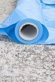 De dampbarri?re van de polyethyleenbescherming om de passage van damp van het hete deel van de structuur tot het koude deel van t royalty-vrije stock foto