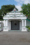 De Danapratapa-poort, één poort binnen Yogyakarta-het Paleis van het Sultanaat Royalty-vrije Stock Afbeeldingen