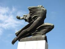 De Dankbaarheid aan het monument van Frankrijk in Servië, Belgrado Royalty-vrije Stock Foto's