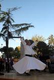 De dans die Derwisj wervelen wordt genoemd Sema Stock Foto