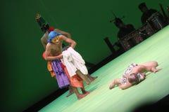 De dans een liefdeverhaal Stock Afbeelding