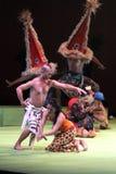 De dans een liefdeverhaal Stock Foto
