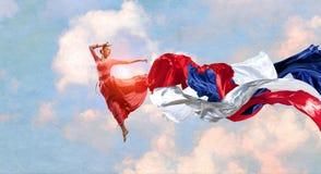 De dans is haar hartstocht vector illustratie
