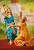 De Dans van Bagan Stock Fotografie