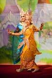 De Dans van Bagan, Myanmar Royalty-vrije Stock Fotografie