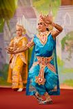 De Dans van Bagan, Myanmar Royalty-vrije Stock Foto