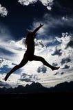 De Dans van de berg Royalty-vrije Stock Foto