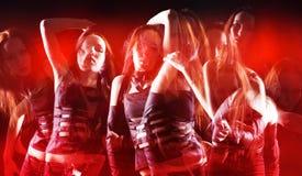 De dans van de disco Stock Afbeelding