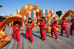 De dans van de draak Royalty-vrije Stock Fotografie
