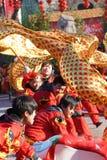 De dans van de draak Stock Foto