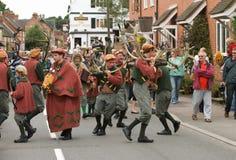 De Dans van de Hoorn van Bromley van Abbots Royalty-vrije Stock Fotografie